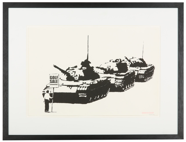 Banksy, 'Golf Sale', 2003, Chiswick Auctions