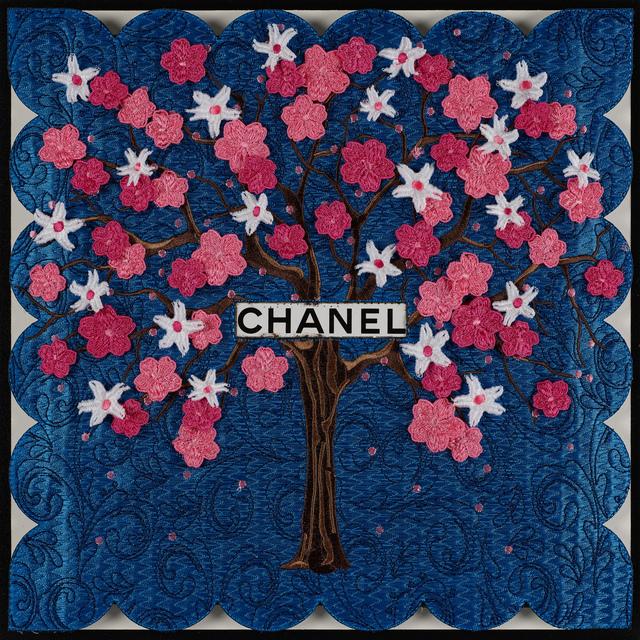 Stephen Wilson, 'Chanel Tree (Blue)', GFA1137, Gefen Fine Art