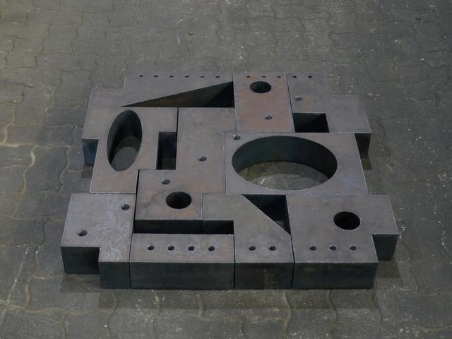 David Rabinowitch, 'Metrical Construction', 1981, Sculpture, Hot rolled steel, Galerie Floss & Schultz