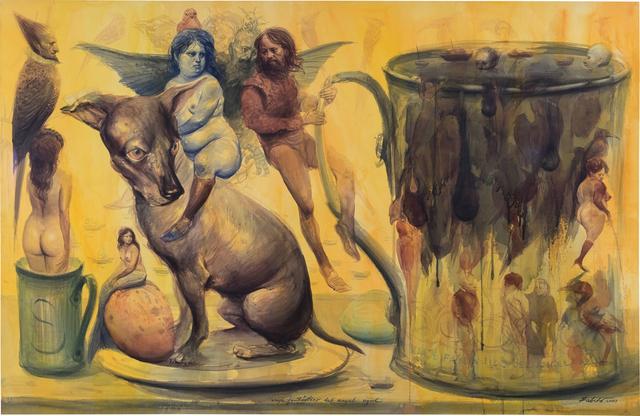 Roberto Fabelo, 'Viaje fantástico del ángel azul', 2003, Phillips