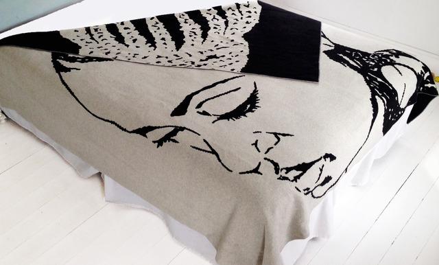Mickalene Thomas, 'Lena Blanket', 2013, Artware Editions