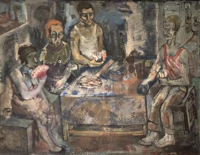 Jemal Kukhalashvili, 'Fisherman's Family', 1987, Chardin Art Gallery