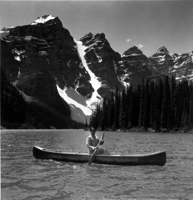 , 'Lake Moraine, Canada (Canoe Mountain, Alberta),' 1986, Ben Brown Fine Arts