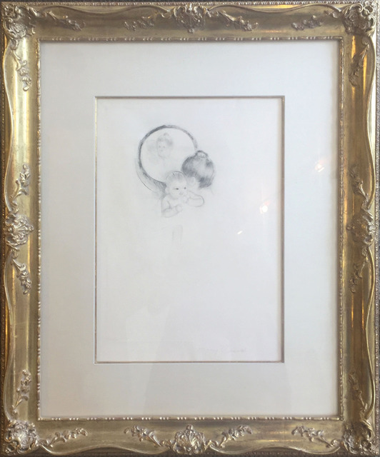 , 'Baby Held Before an Oval Mirror,' ca. 1900, Galerie d'Orsay