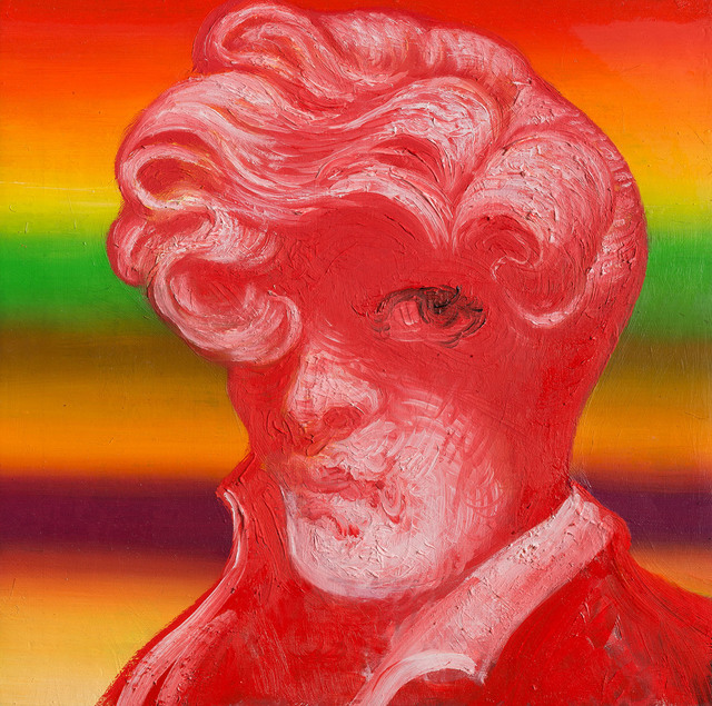 , 'Red Head Curl,' 2018, Jonathan LeVine Projects