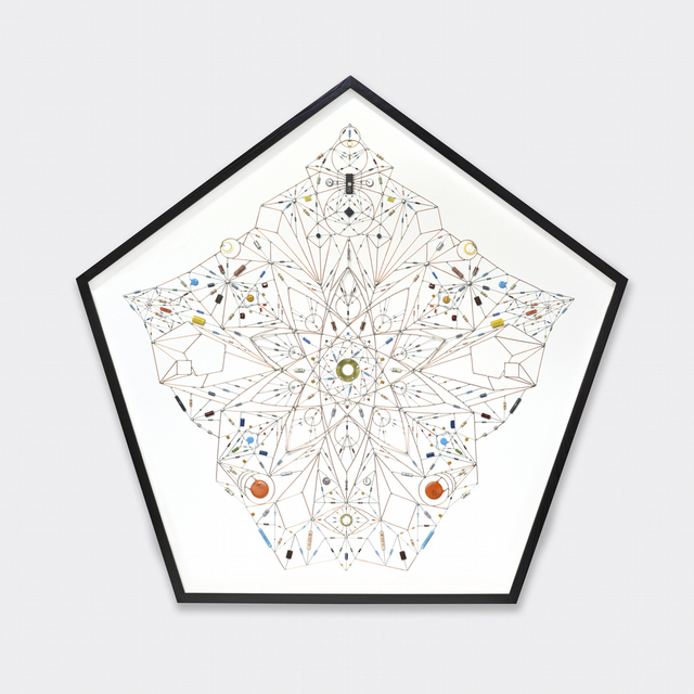 , 'Technological Mandala 100 (Hekamiah) (2017),' 2017, Beers London