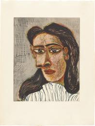 Tête de femme No. 3 (Head of a Woman No. 3): Portrait de Dora Maar (Bl. 1339; Ba. 651)