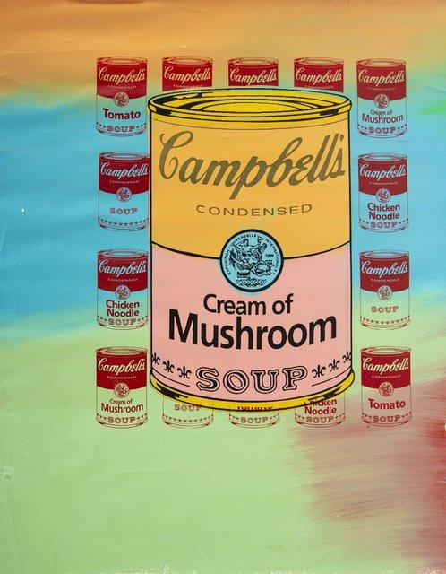 """Steve Kaufman, 'Steve Kaufman  (1960-2010) -- Description : """"Campbell's Soup""""', 1960-2010, Modern Artifact"""