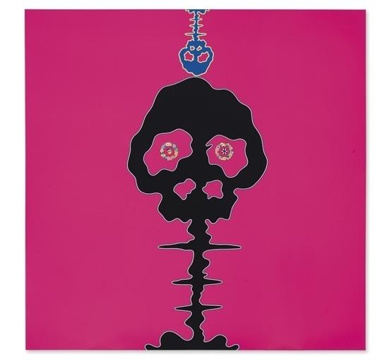 Takashi Murakami, 'Time Bokan-Pink', Acrylic on canvas mounted on panel, Christie's