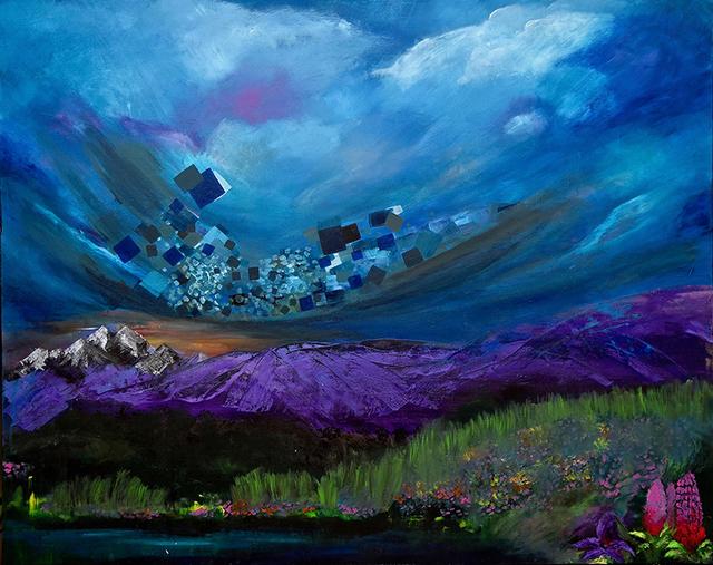 , 'Serenity,' 2017, Bitfactory Gallery