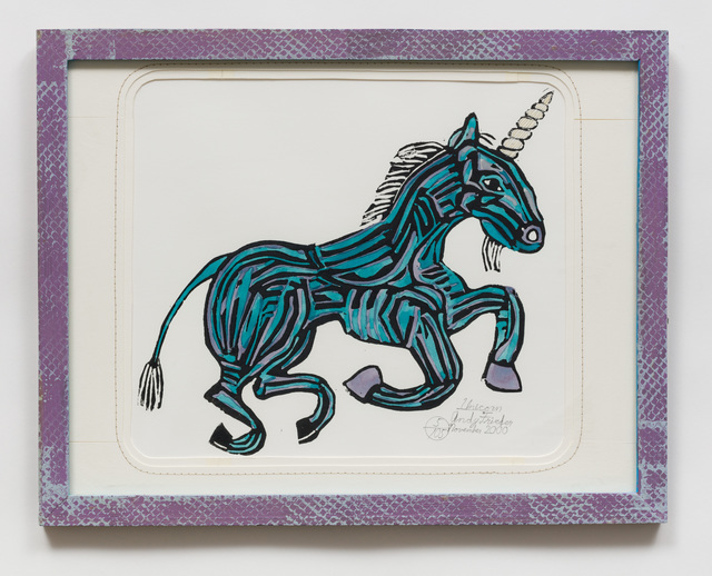 , 'Unicorn (AF42),' 2000, The Good Luck Gallery