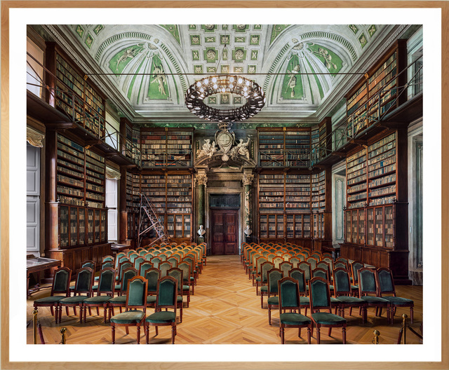 , 'Library of Science Academy, Turin,' 2016, Museum of Modern Art Dubrovnik