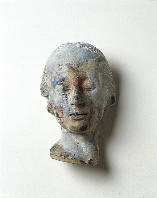 , 'Masque mortuaire d'une femme inconnue,' 1978-1979, Galerie Lelong & Co.