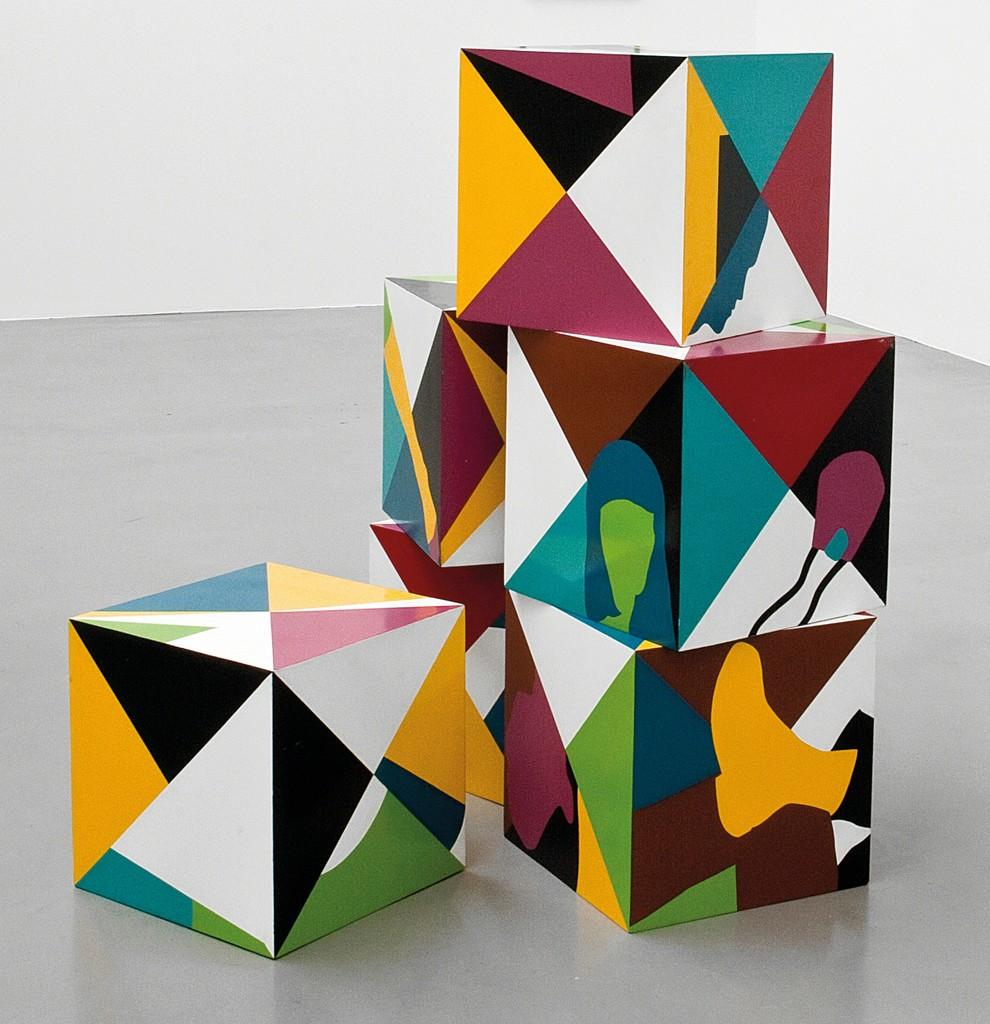 Teresa Burga, 'Cubes,' 1968, Tate Modern