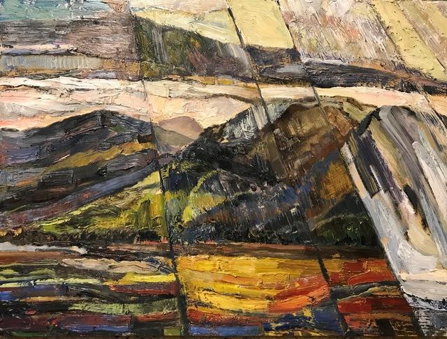 Edward Bear Miller, 'Olana View #5', 2019, Painting, Oil on Panel, Keene Arts