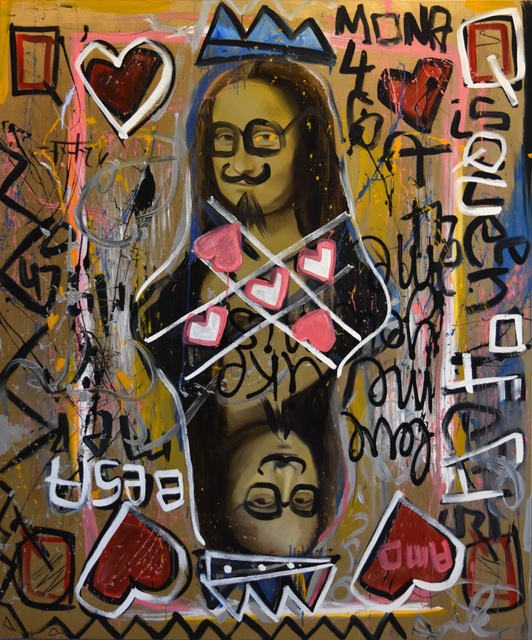 , 'Mona Lisa Queen of Hearts,' 2014, Scenario Art Gallery