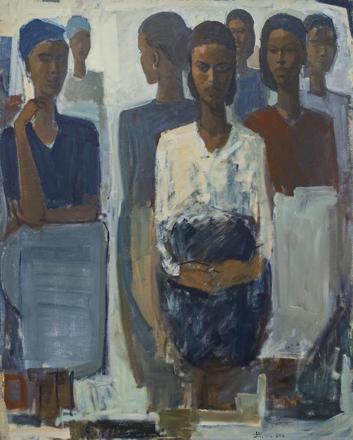 , 'Pillars of Life: Courage,' 2018, Addis Fine Art