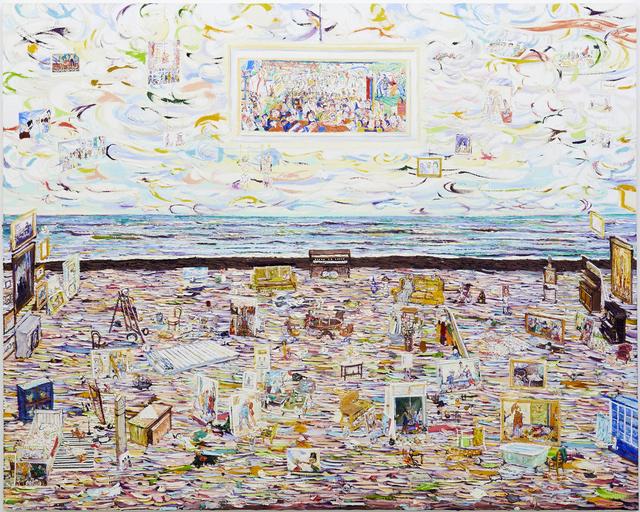 , 'James Ensor's Studio,' 2015, Tomio Koyama Gallery