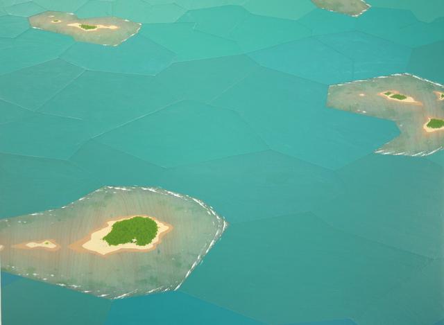 , 'Atolls, Fractured Landscape,' 2015, Zevitas Marcus