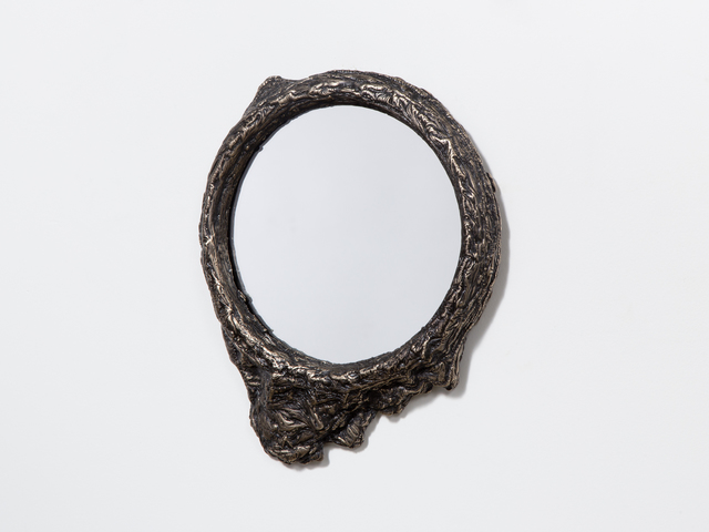 Steven Haulenbeek, 'Ice-Cast Bronze Mirror #3', Jeff Martin Joinery