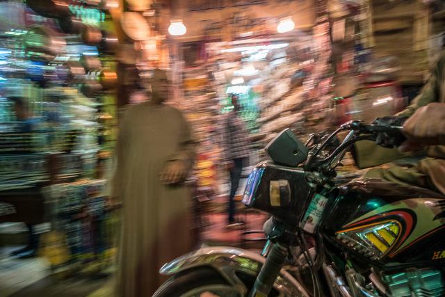 , 'Luxor Bazaar,' 2017, Albumen Gallery