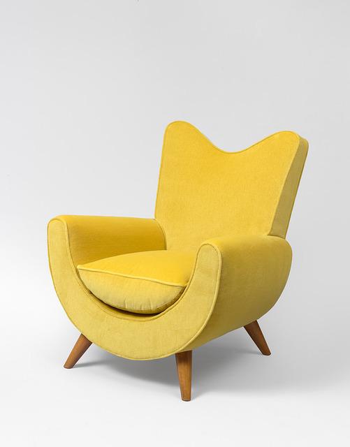 """, '""""Ambassador"""" armchair,' ca. 1950, Galerie Jacques Lacoste"""