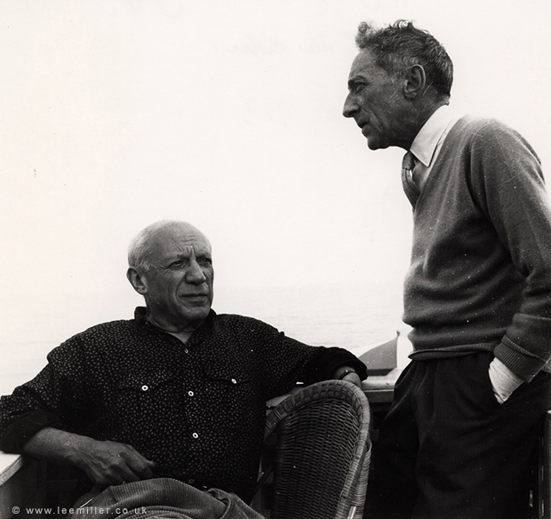 , 'Picasso and Jean Cocteau, Golfe -Juan, France ,' 1953, °CLAIR Galerie