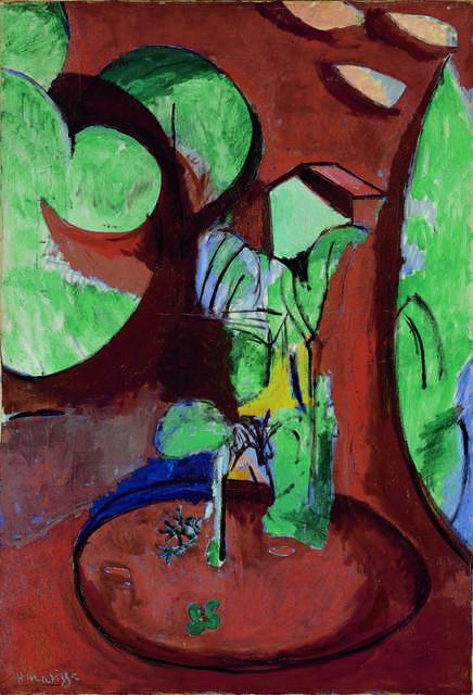 Henri Matisse, 'Jardin à Issy (L'atelier à Clamart) (The Garden at Issy, The Studio in Clamart)', ca. 1917, Fondation Beyeler