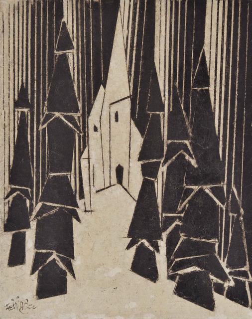 , 'Kapelle im Wald,' 1943, Moeller Fine Art