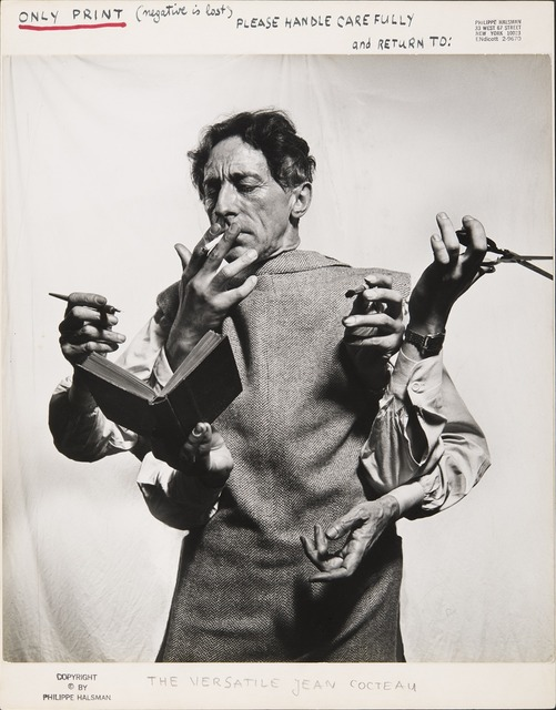 , 'The Versatile Jean Cocteau,' 1949, Jeu de Paume