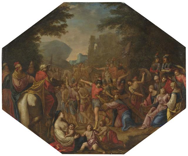 Circle of Claude Déruet, 'Road to Calvary', 1615/1620, National Gallery of Art, Washington, D.C.