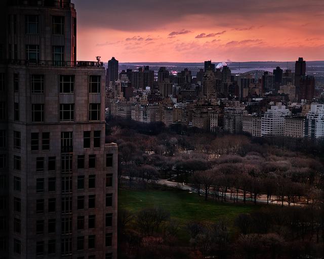 David Drebin, 'Girl Over Central Park', 2012, Isabella Garrucho Fine Art