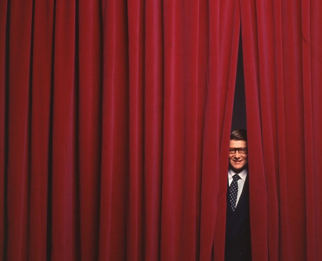 , 'Yves Saint-Laurent, Paris, October 1995,' 1995, Photo12 Galerie