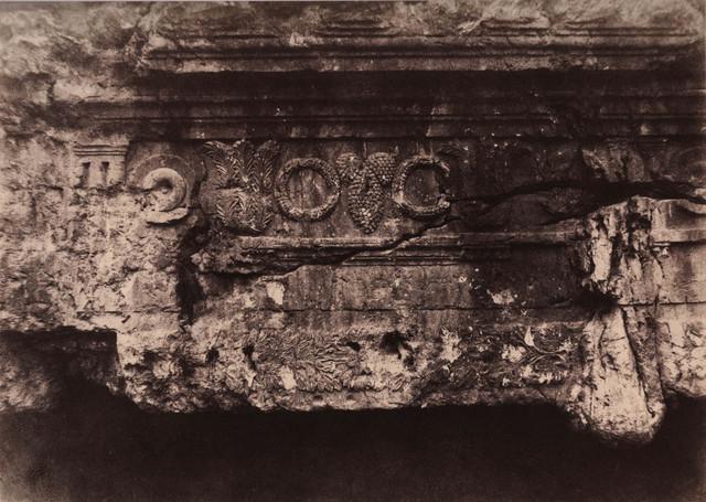 , 'Jérusalem, Tombeau des Rois de Juda, Frise supériure et central ,' 1854, Alan Klotz Gallery
