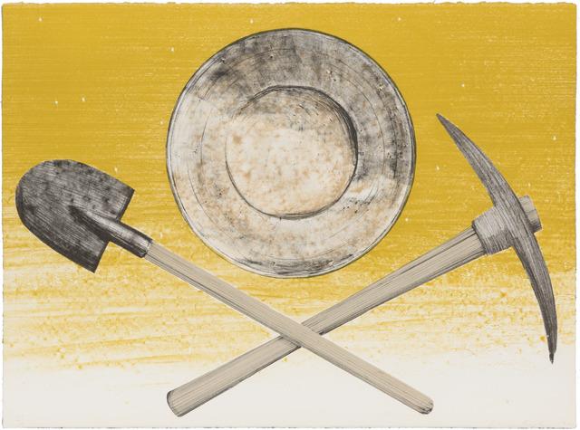 , 'PICK, PAN, SHOVEL,' 1980, Joshua Tree Art Gallery
