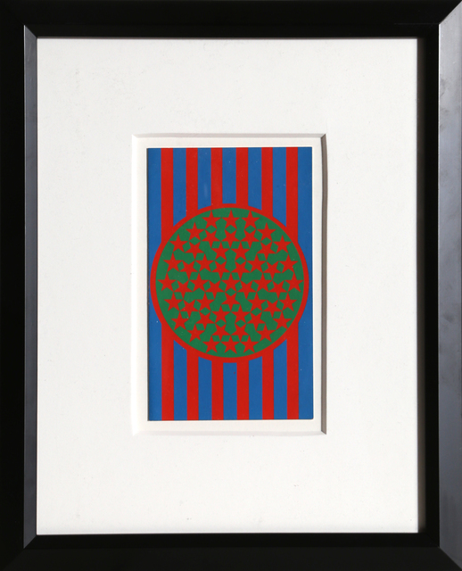 Robert Indiana, 'New Glory Banner', 1968, Print, Silkscreen on Card Stock, RoGallery