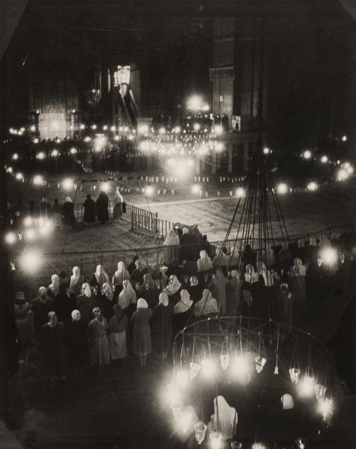 Brassaï, 'Le Souleymanie pendant la Fete du Ramadan, Hagia Sofia, Istanbul', 1953, Forum Auctions