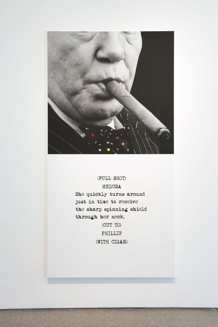 , 'Scene (  ) / Take (  ) : Cigar,' 2014, Galerie Greta Meert
