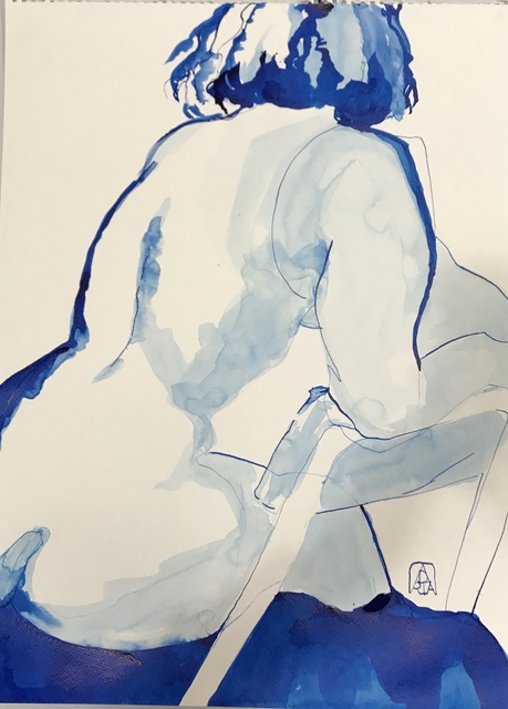 , 'Almost Blue,' 2019, Gallery 4 West
