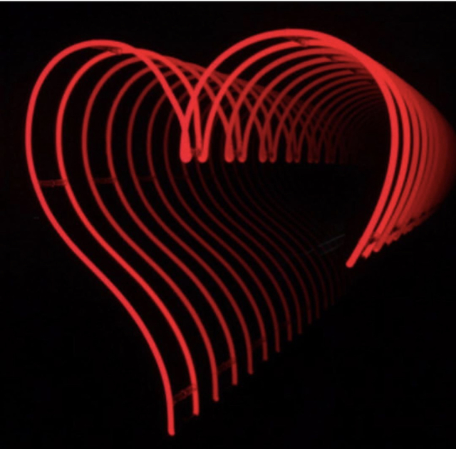 David Drebin, 'Infinity Heart ', 2019, Sculpture, Neon Light, Contessa Gallery