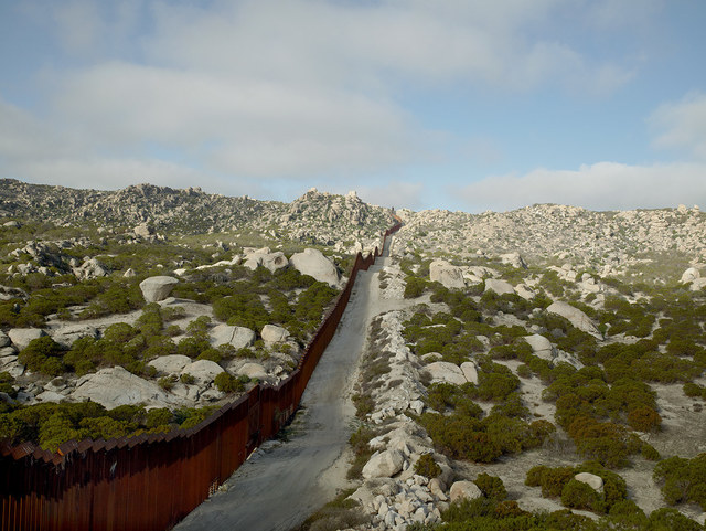 Richard Misrach, 'Wall, Tierra Del Sol, California', 2014, Pace/MacGill Gallery