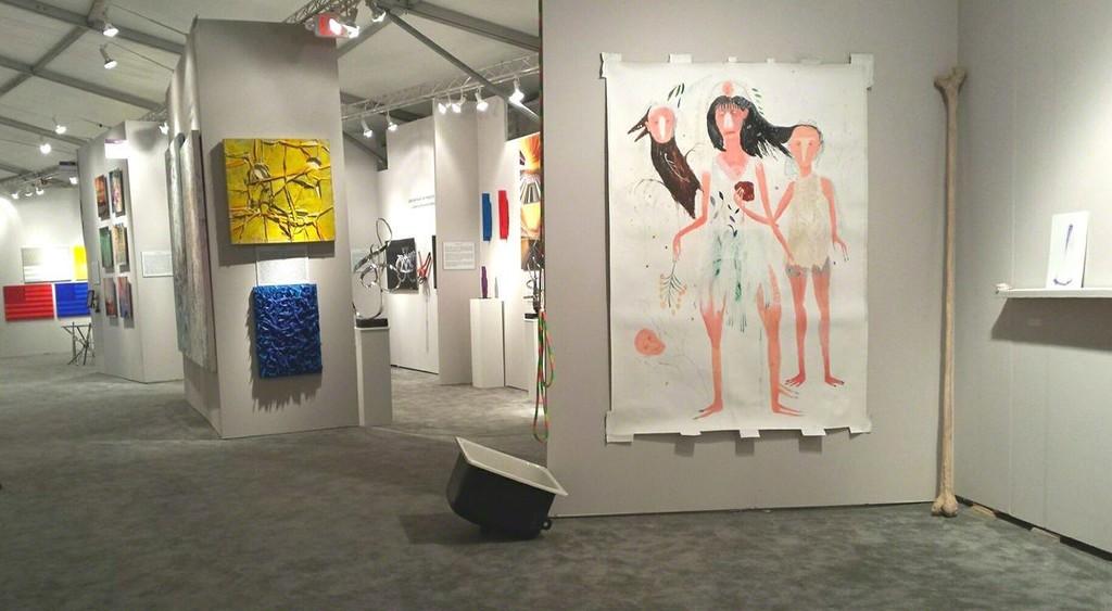 Silvia Mei and Francesco Albano, installation view