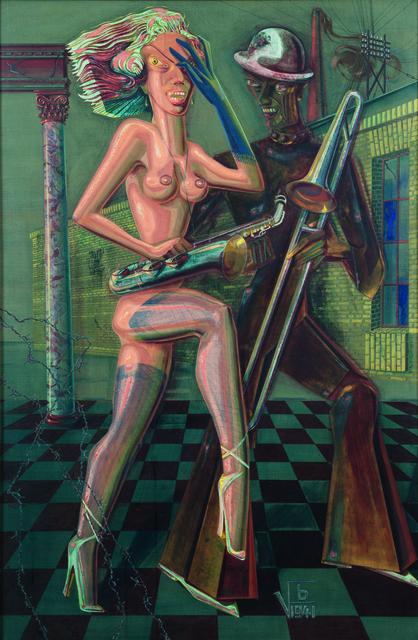 , 'Hetaere,' 1941, Galerie Valentien