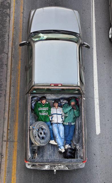 Alejandro Cartagena, 'Carpoolers #16', 2012, Patricia Conde Galería