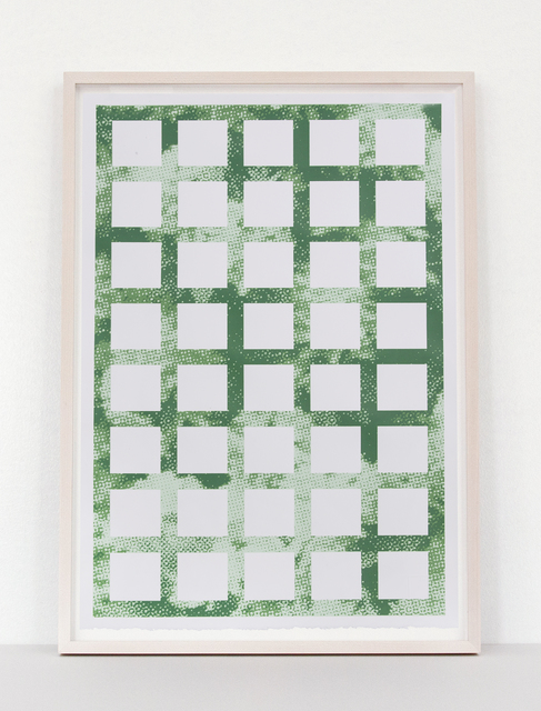 Elizabeth Corkery, 'Green Trellis', 2013, Print Club Ltd.