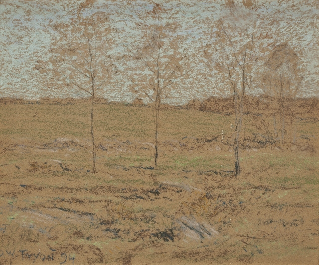 Dwight Tryon, 'Spring Pasture', 1899, Private Collection, NY