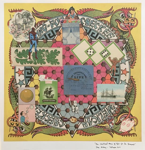 , 'The Checkered Game of Life – for Joe Brainard,' 2016, Tibor de Nagy