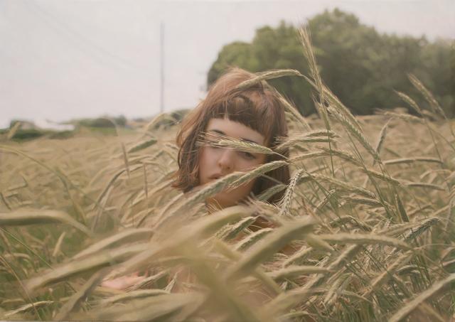 , 'Untitled; Olya in the Field,' 2015, Opera Gallery