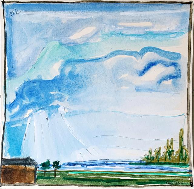 Kiah Bellows, 'Abstract Landscape Series: 2', Miller Gallery Charleston
