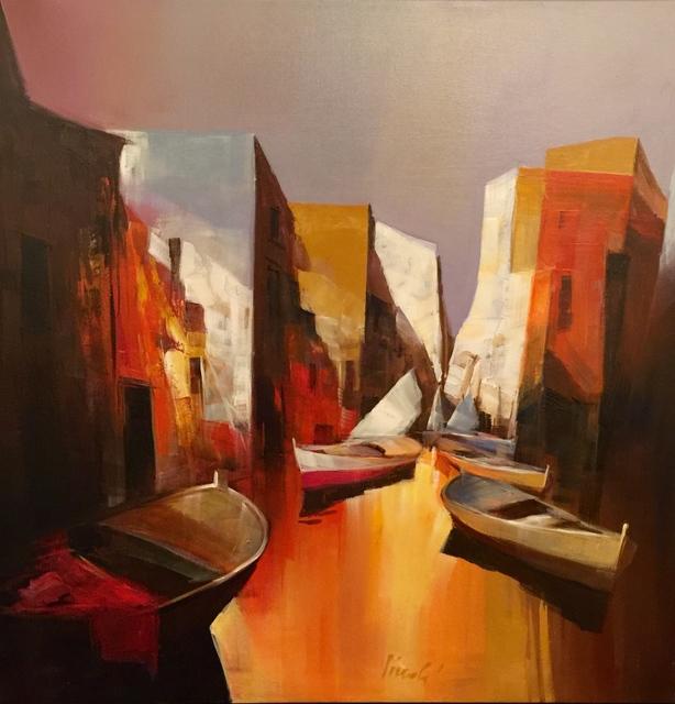 , 'Boat Scene, Italy,' , Cosmopolitan Fine Arts